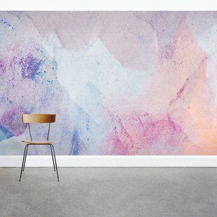 Ebern Designs Wilhelm Intense 8 3 X 145 Wall Mural Wayfair Wall Murals Mural Watercolor Walls