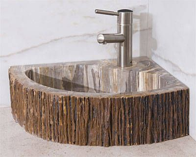 Eco-Conscious Corner Sink