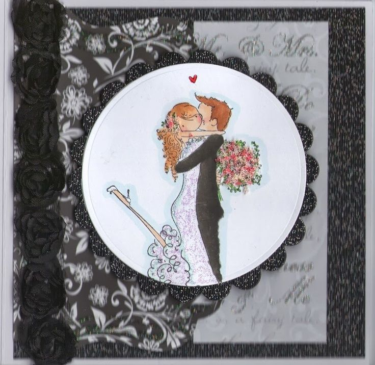Stamping Bella Cards Stamp Wedding Card