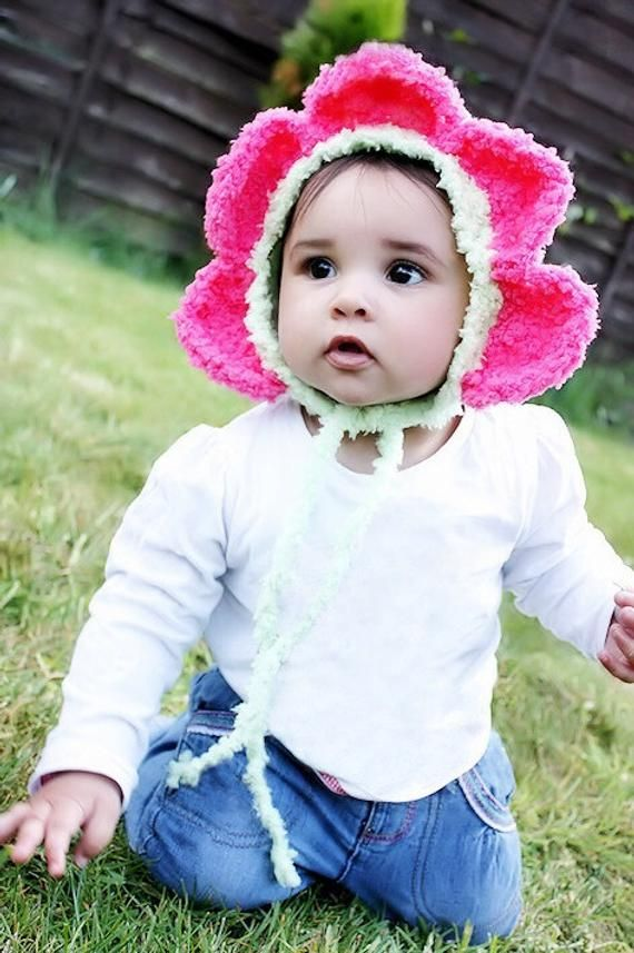 3 to 6m Daisy Flower Hat 705617bd2a95