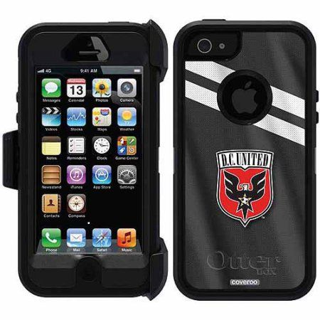 D.C. United Jersey Design on OtterBox Defender Series Case for Apple iPhone 5SE/5s/5
