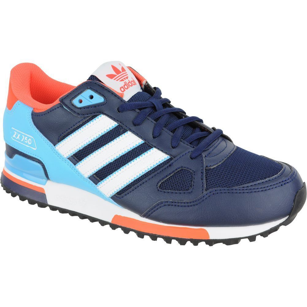 Adidas Shoes – ZX 750 Blue White Turquoise S79194 2016 MEN