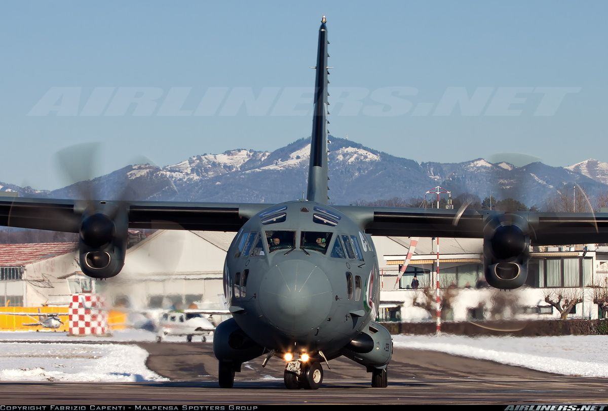 Alenia C27J Spartan Italy Air Force Aviation Photo