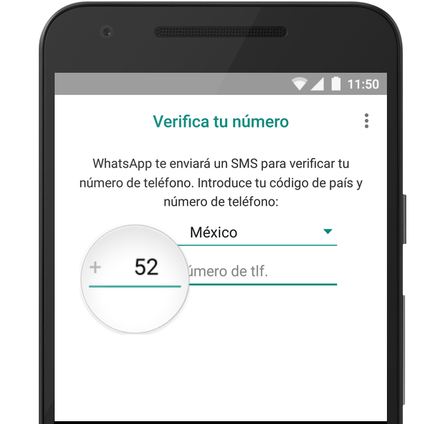FAQ de WhatsApp Verificar mi número (con imágenes