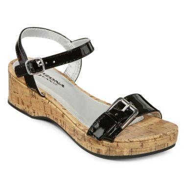 a8606ffaa9f6 Arizona Suzy Girls Wedge Sandals - Little Kids Big Kids found at  JCPenney