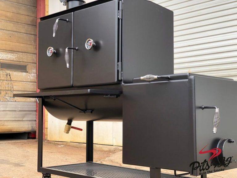 Jj 24x42 Offset Smoker In 2020 Offset Smoker Bbq Pit Smoker Backyard Smokers