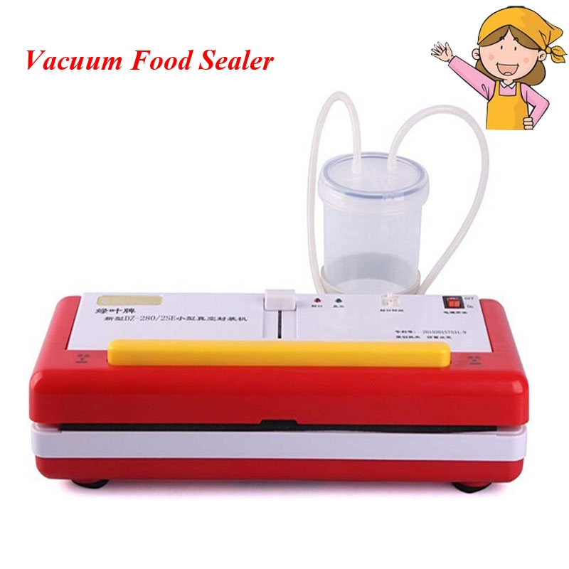 144.96$  Watch now - http://alix7c.worldwells.pw/go.php?t=32670906696 - 2pcs/lot New Arrival Automatic Vacuum Sealer Machine Food Packaging Machine Vacuum Sealer DZ-2SE