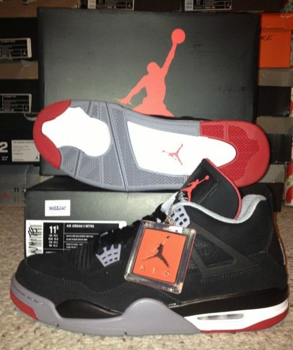 e730b862df21cf Jordan IV BREDS Deadstock  Sneakers  DS  Deadstock