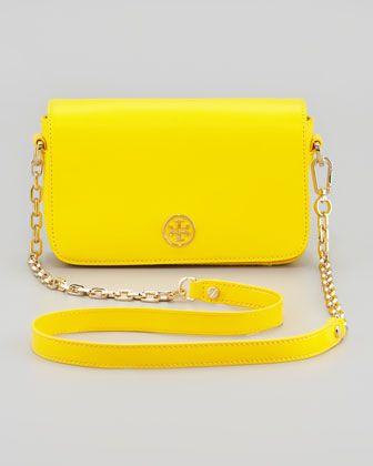 2b3058460a Mini Robinson Chain-Strap Bag Daisy Yellow | purses | Bags, Yellow ...