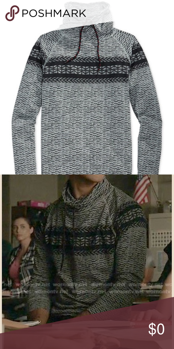ISO: Fair Isle Fake Out Sweater by American Rag I'm looking for ...