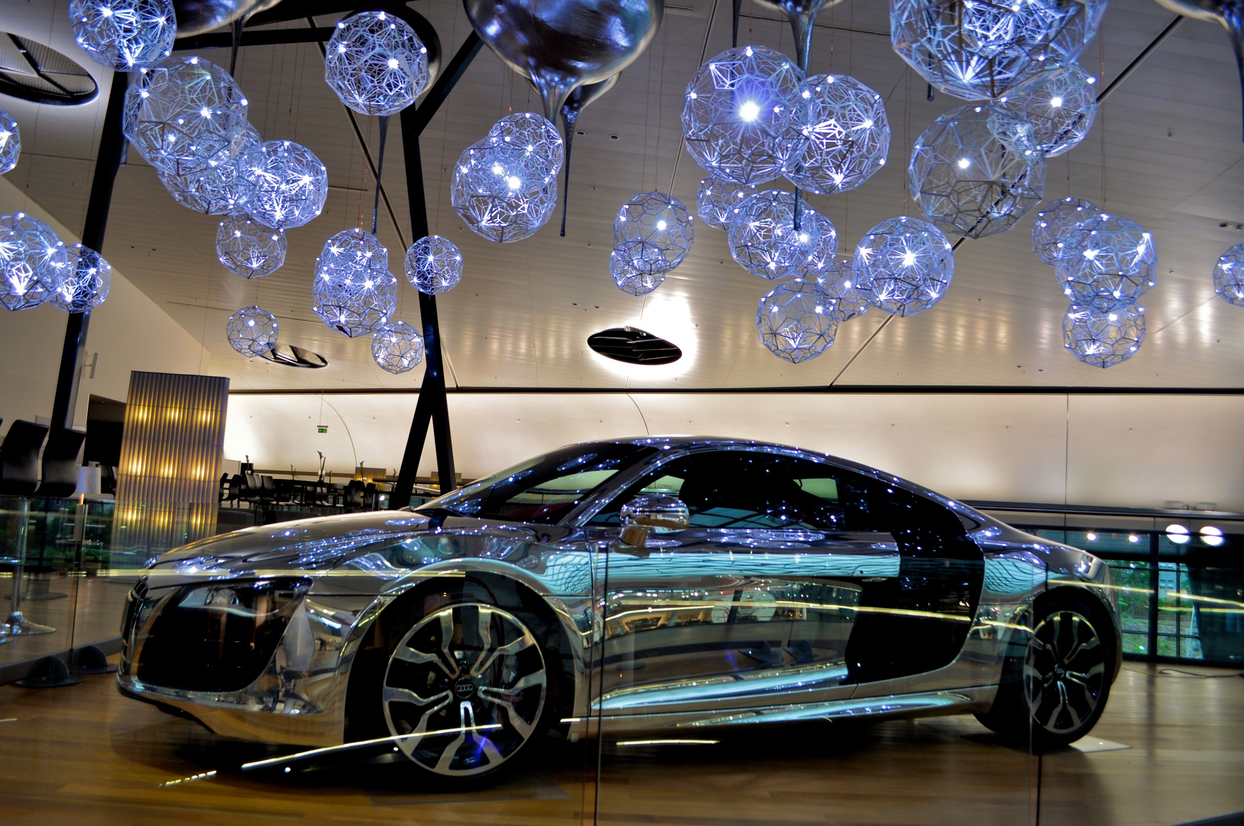 chrome audi in stuttgart germany boldly challenging status quo photography pinterest. Black Bedroom Furniture Sets. Home Design Ideas