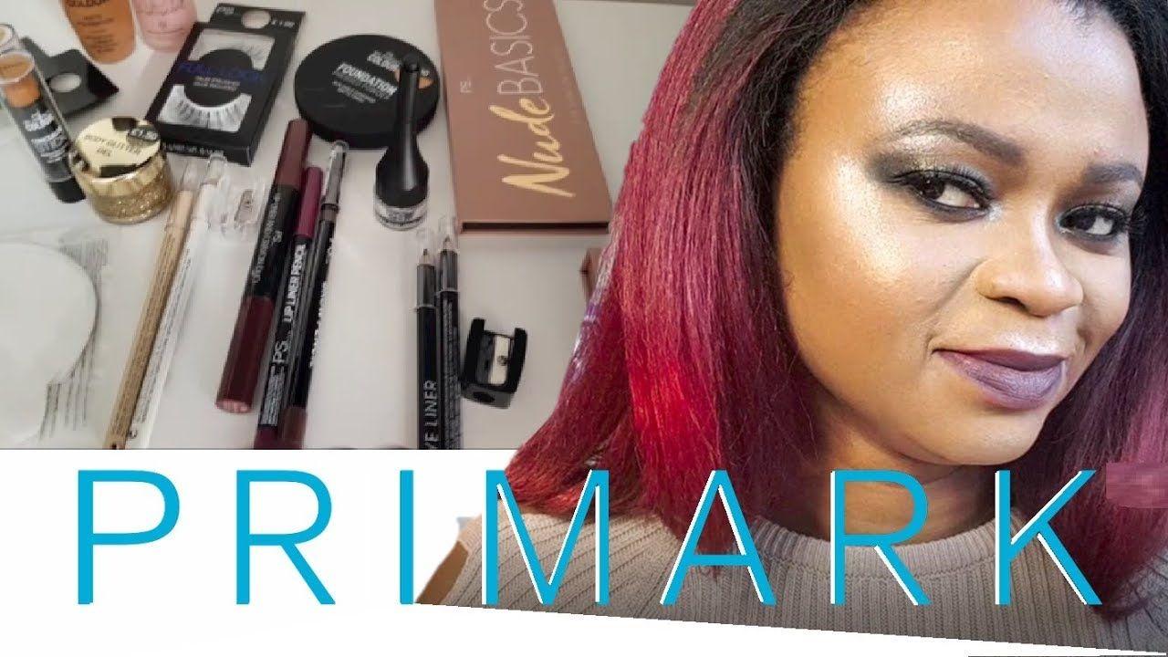 UK PRIMARK PS Full Face Makeup Tutorial Product Review