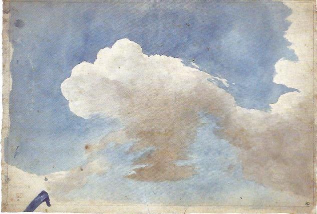 J'ai même vu des formes dans les nuages et les taches des murs qui font naitre en moi de belles inventions de choses diverses   Vinci (Delacroix)