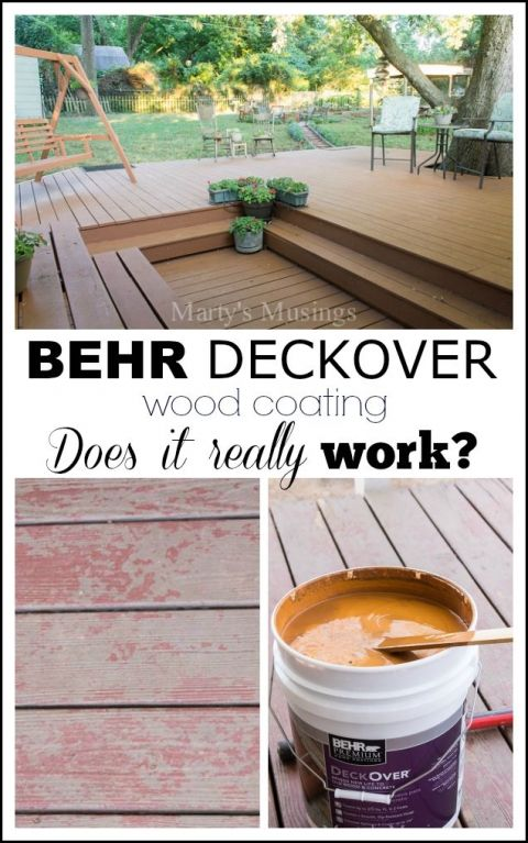 Behr Deckover Product Review Behr Deckover Deck Makeover Behr