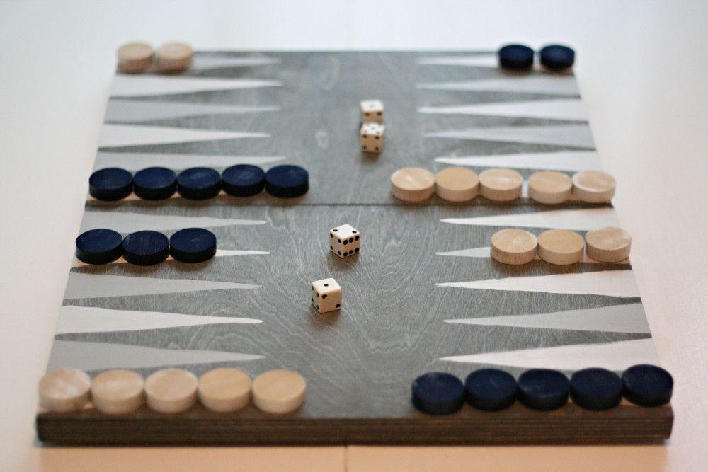 Backgammon Board. Games, Wood games, Board games