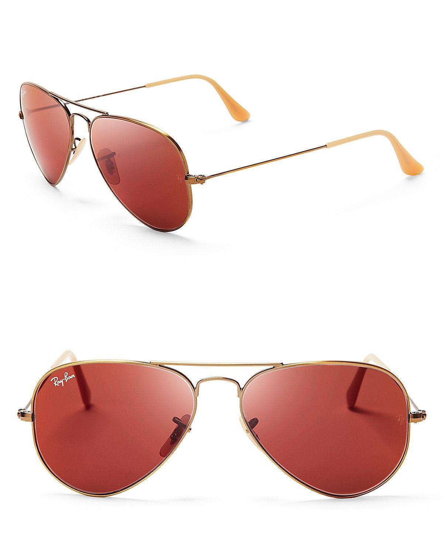 Ray-Ban Mirrored Aviator Sunglasses   Bloomingdale s   Nice Girl ... 67faa7774580