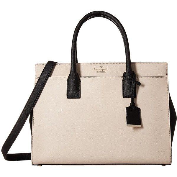 Kate Spade New York Cameron Street Small Hayden (Tusk/Black) Handbags 3a5me
