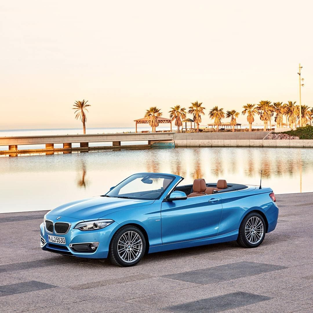 Paradise On Wheels The New Bmw 2series Convertible Bmw Bmw 2 Car
