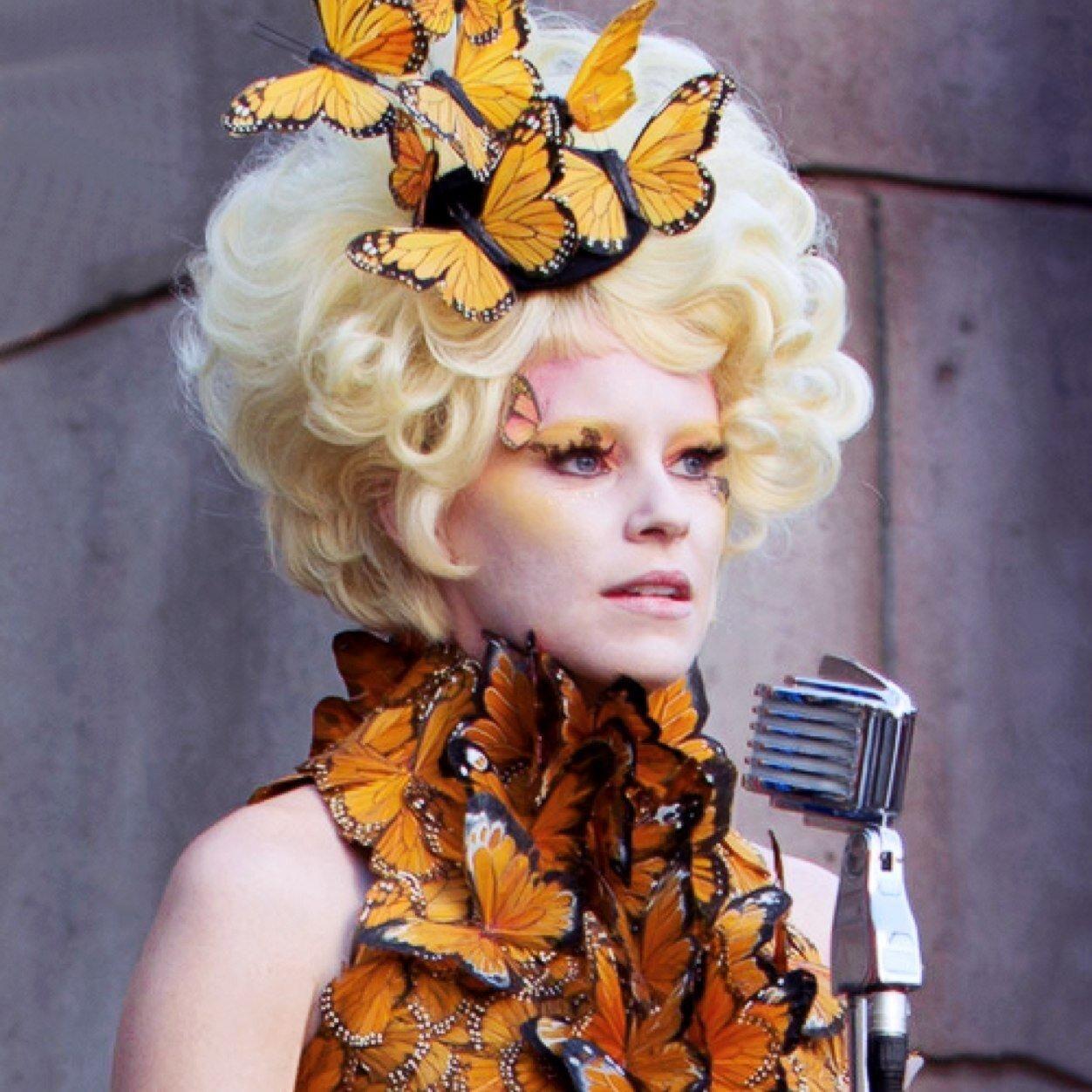 Effie Trinket from Hunger Games. Costume DIY   Diy