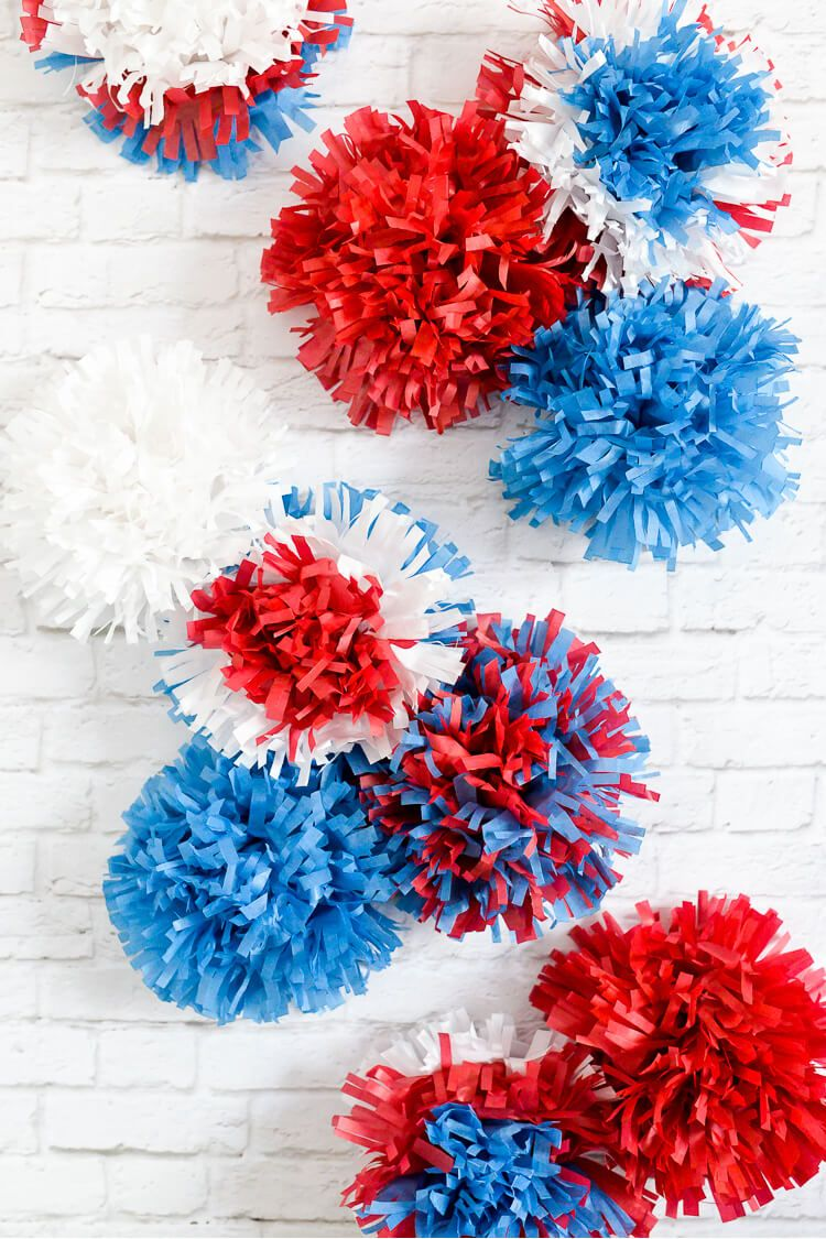 How To Make Tissue Paper Flowers Four Ways Bdy Party Pinterest