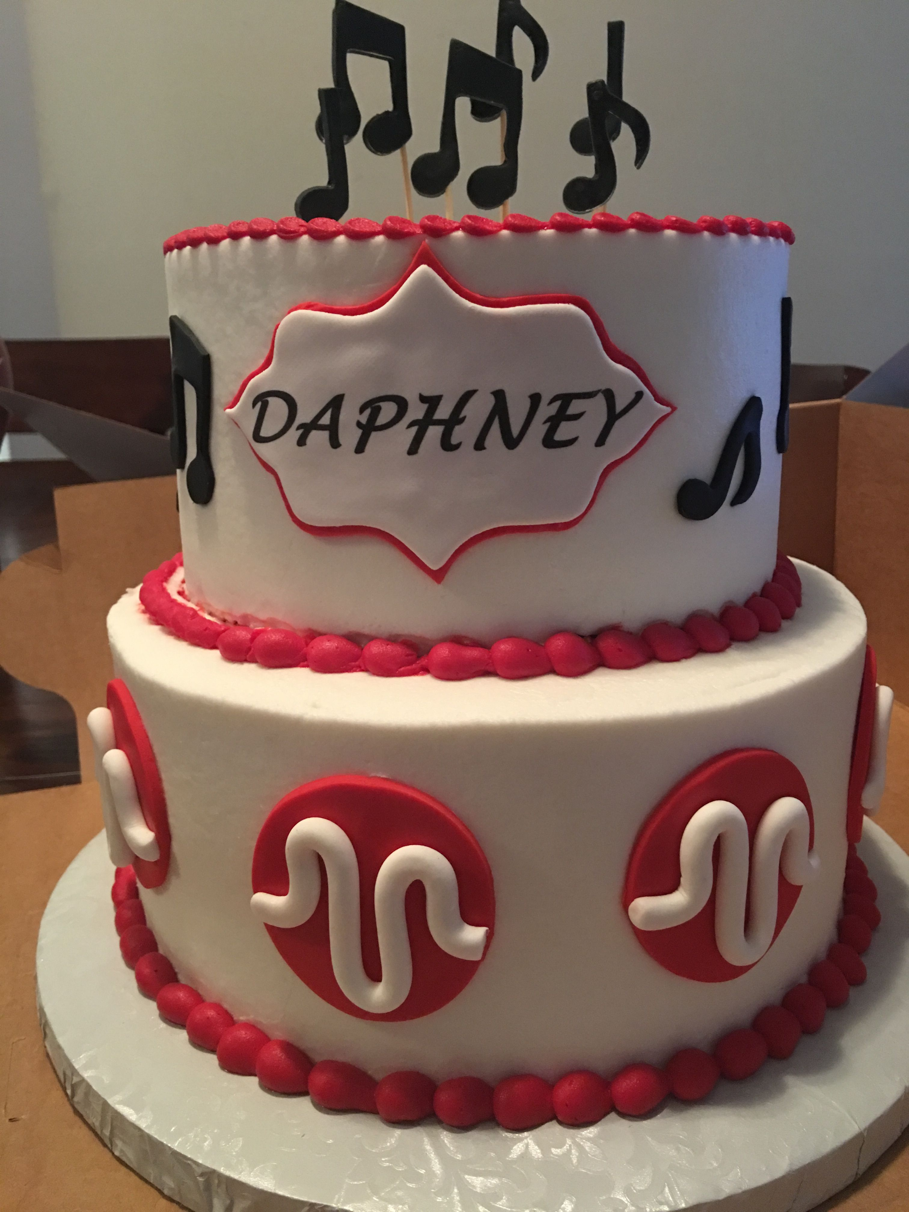 Musical Ly Birthday Cake