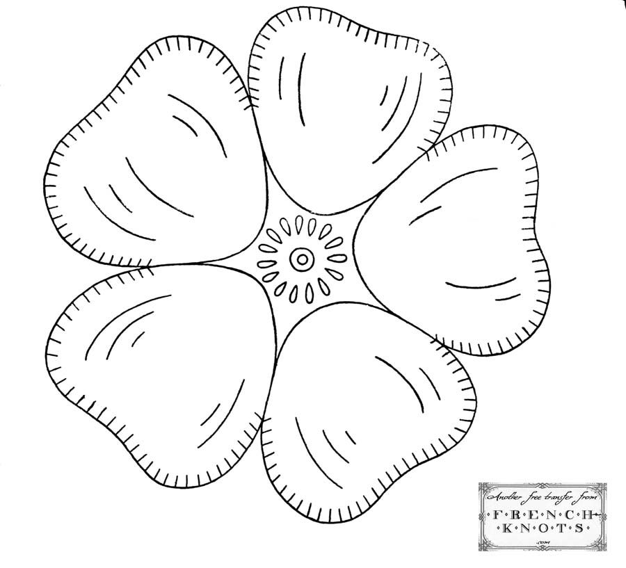 Flowers & Nature Embroidery Patterns | APPLIQUE PATTERNS | Bordado ...