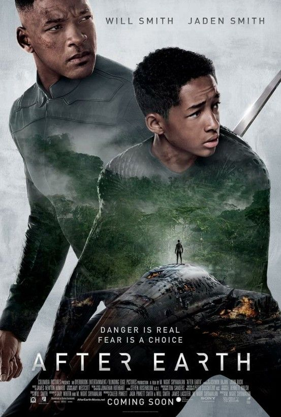 Coming Soon Here S The New Movie Poster For After Earth Featuring