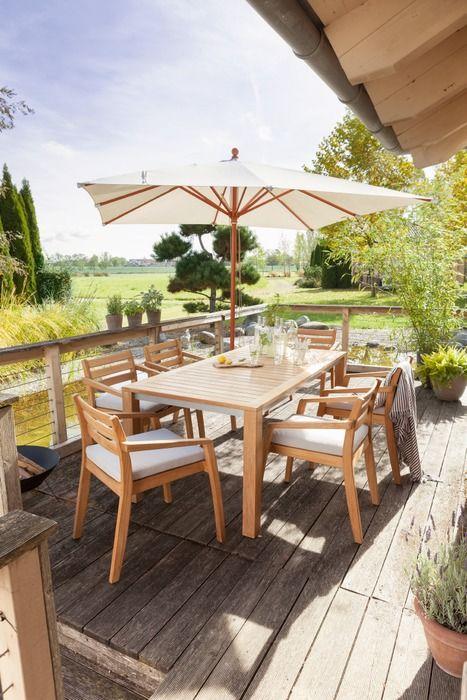 Gartentisch Calia 180 X 90 Cm Teak Holz In 2020 Gartentisch