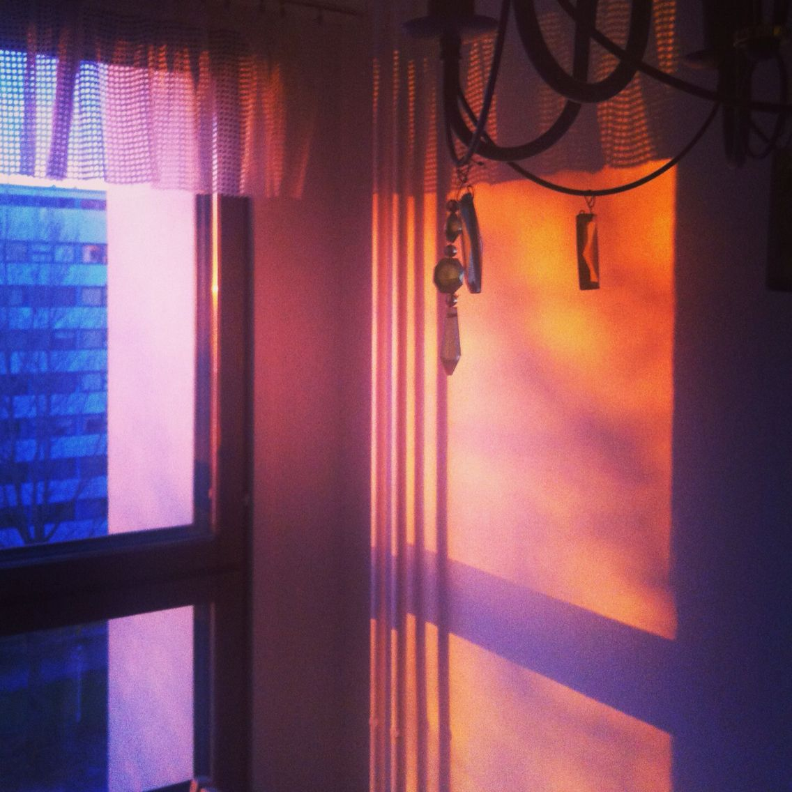 #sunset in my #kitchen