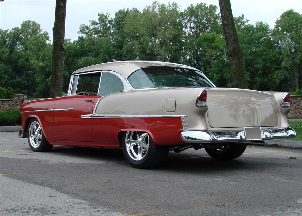 1955 chevrolet bel air 2 door hardtop barrett jackson for 1955 chevy bel air door panels