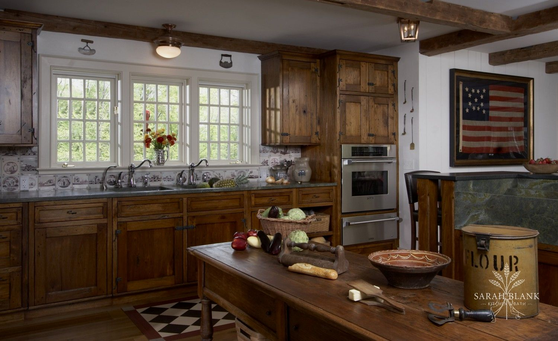 Americana Kitchen Sarah Blank Design Kitchen Bath Americana Kitchen Kitchen Style Kitchen Dining Room