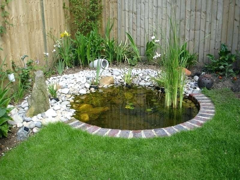 Easy and cheap DIY way to make a pond in the garden (With ...