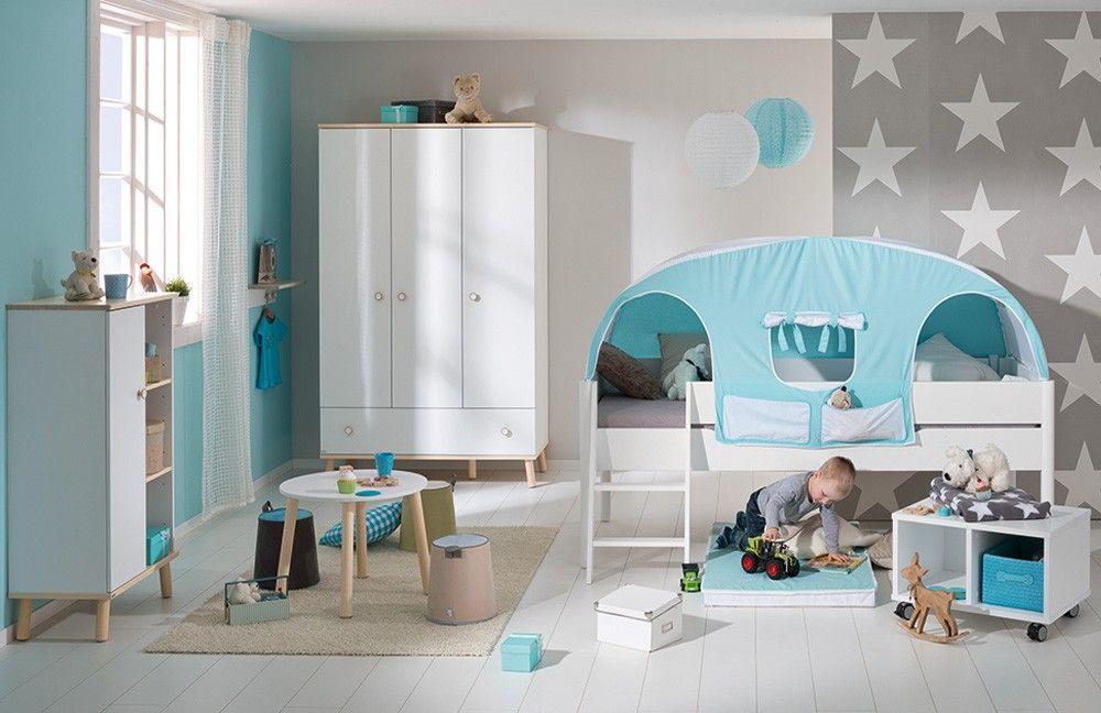Paidi Kinderzimmer Ylvie kreideweiß Birke | Möbel Letz - Ihr ... | {Kinderzimmer online 4}