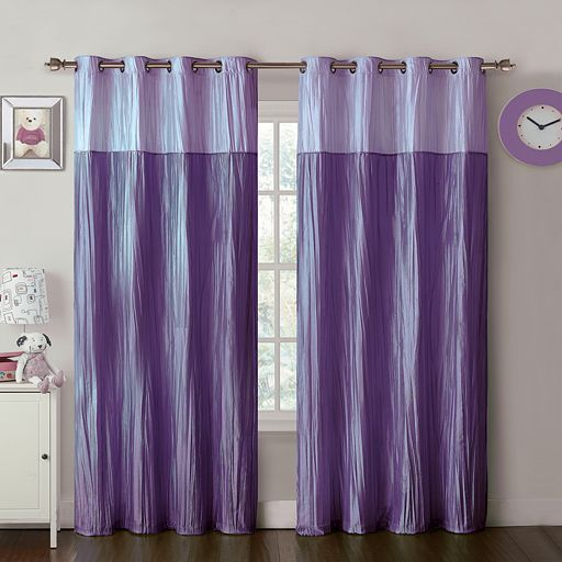 6bbbafc118988e8a66b57947fb2691e8 - Better Homes And Gardens Crushed Taffeta Curtain Panel