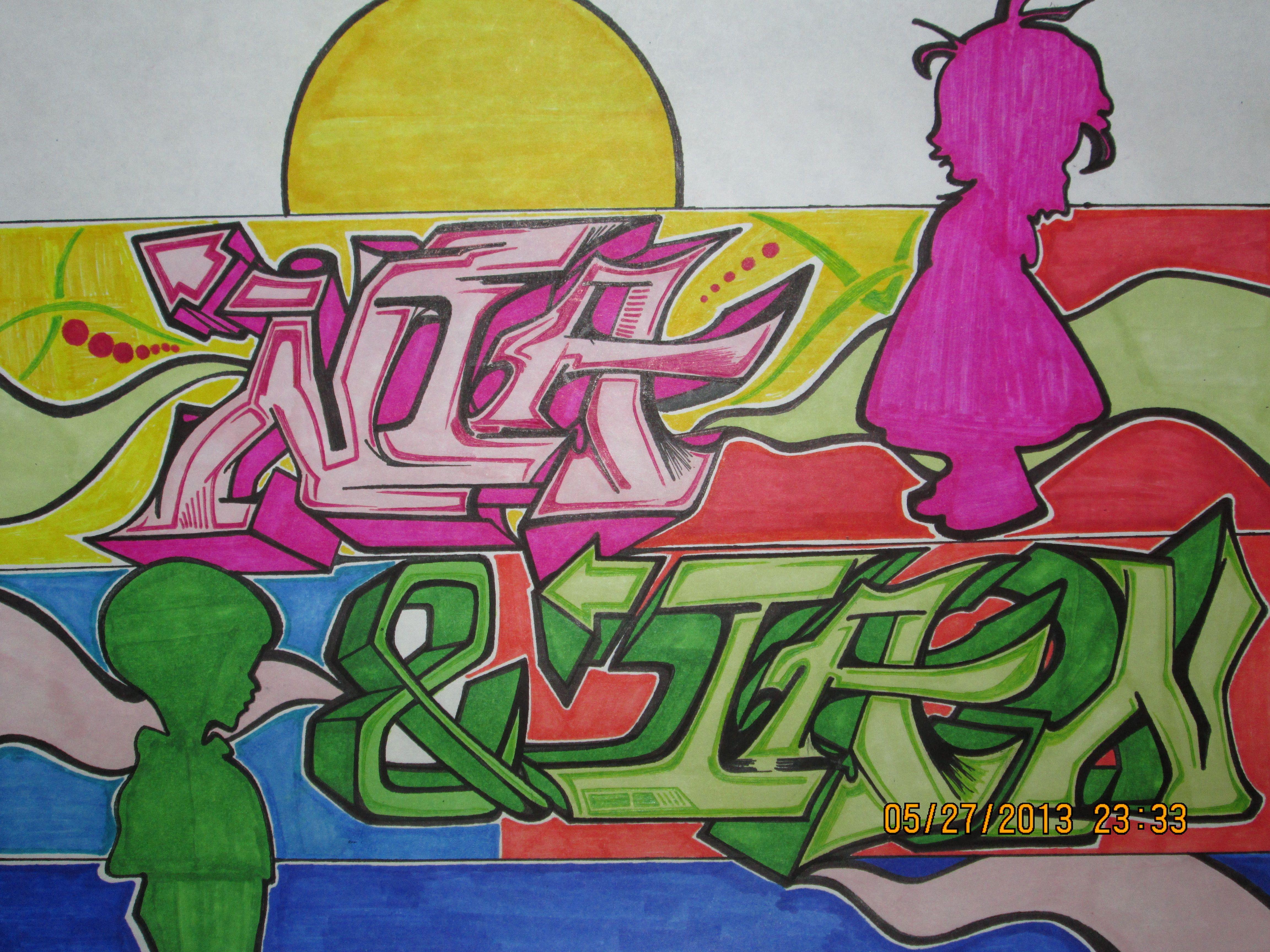 My Graffitinia & Ian