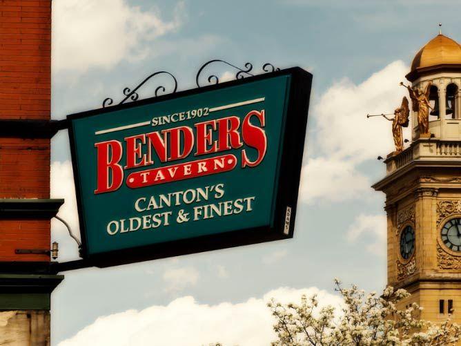 Benders Tavern Top 10 Restaurants Canton Ohio Weekend Getaways Travel Ideas Things