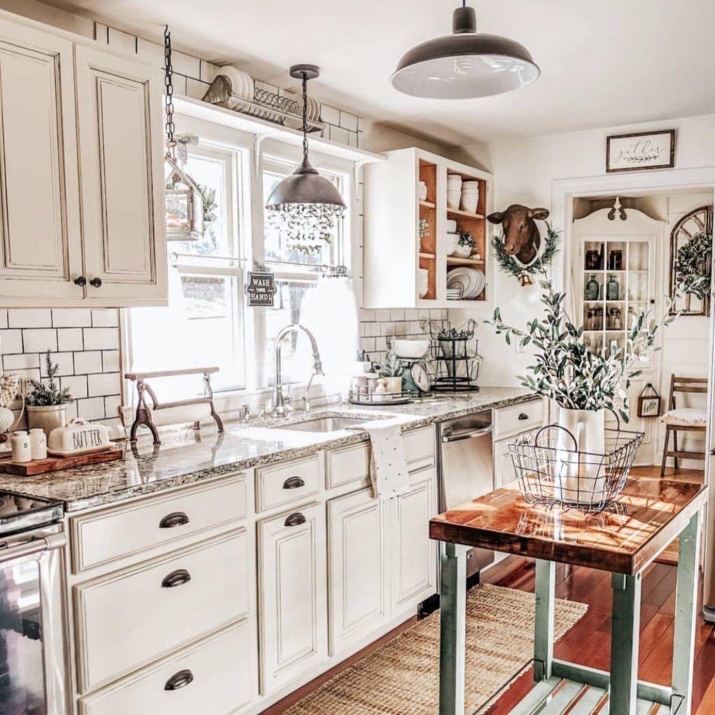 40 Of The Best Home Decor Blogs That Will Inspire You Farmhouse Kitchen Design Modern Kitchen Design Rustic Kitchen