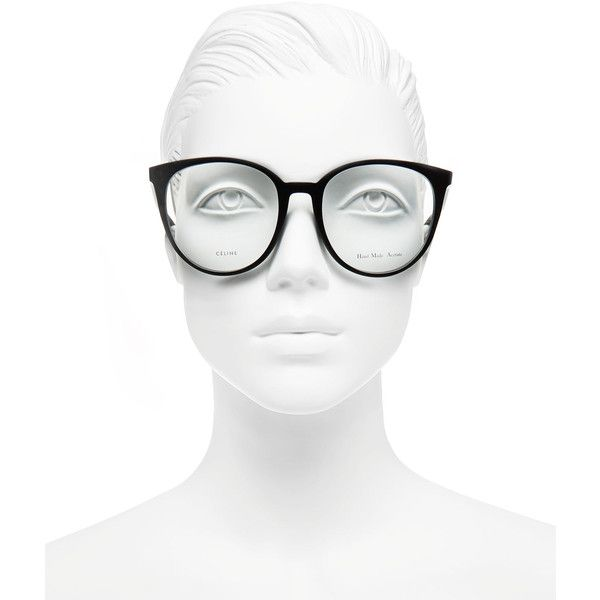 b8dfb79b258 Celine Black Thin Mary Glasses ( 325) ❤ liked on Polyvore featuring  accessories