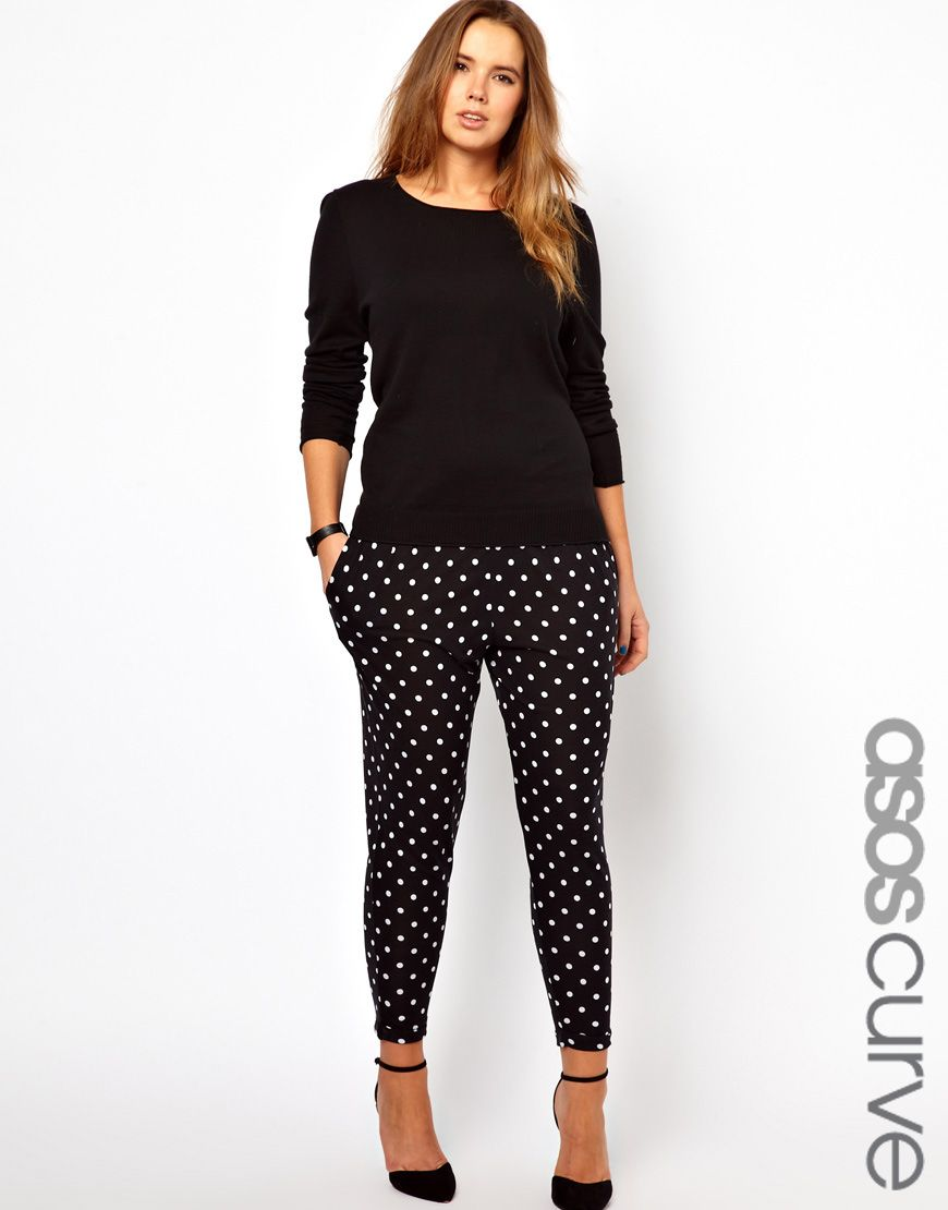 asos curve cropped pant i 39 m still trying to wrap my mind around the fact that this model is. Black Bedroom Furniture Sets. Home Design Ideas