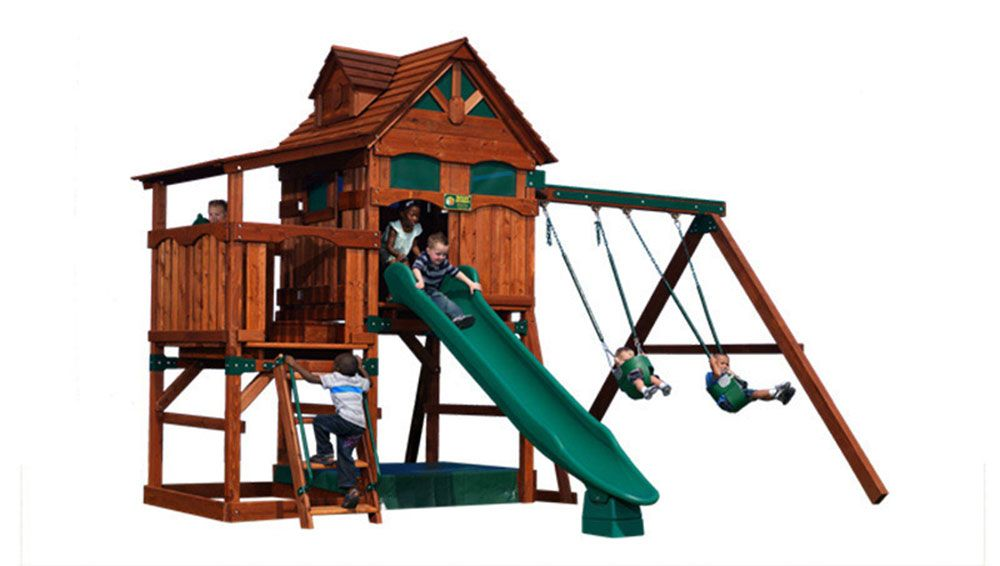 Adventure Treehouse Playsets - Outdoor Playsets - Broken ...