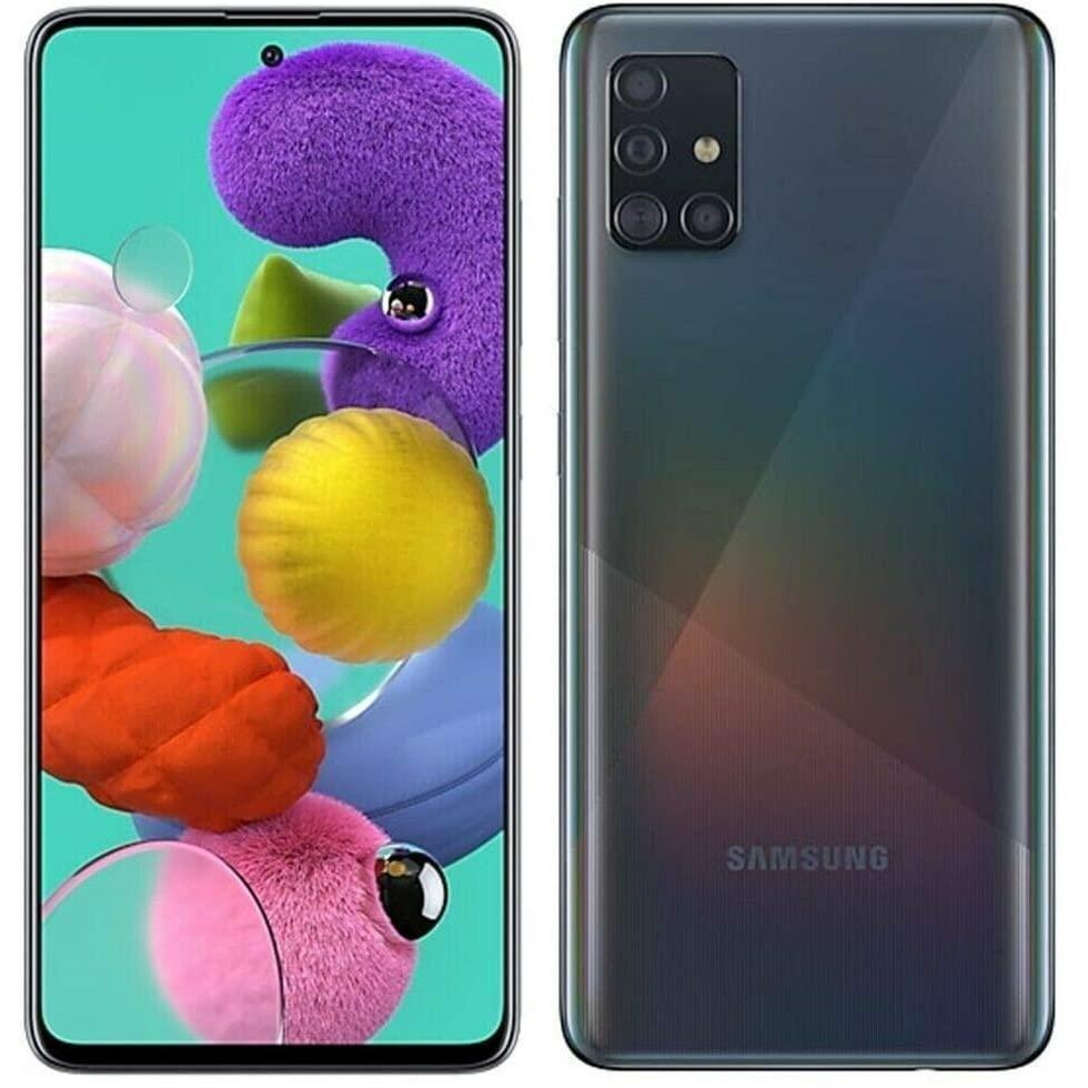 Galaxy A51 128gb Prism Black Unlocked Samsung Samsung Galaxy Dual Sim
