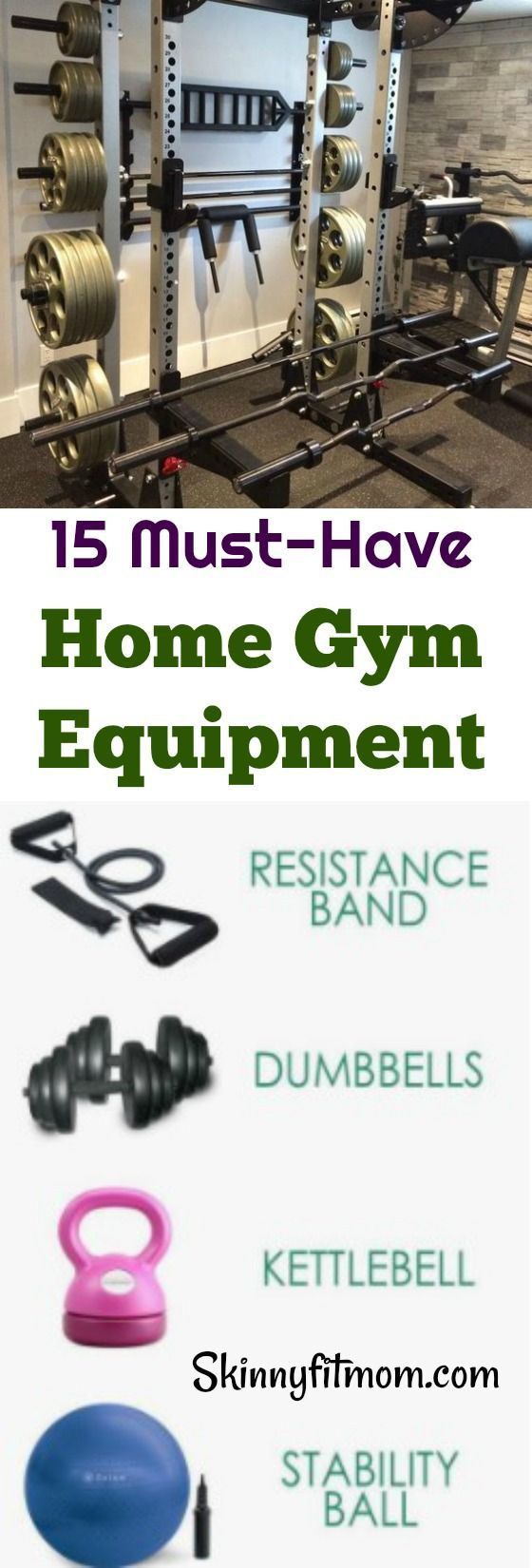 15 Home Gym Equipment On The Budget- Get the best home gym equipment without tearing your pocket. #h...
