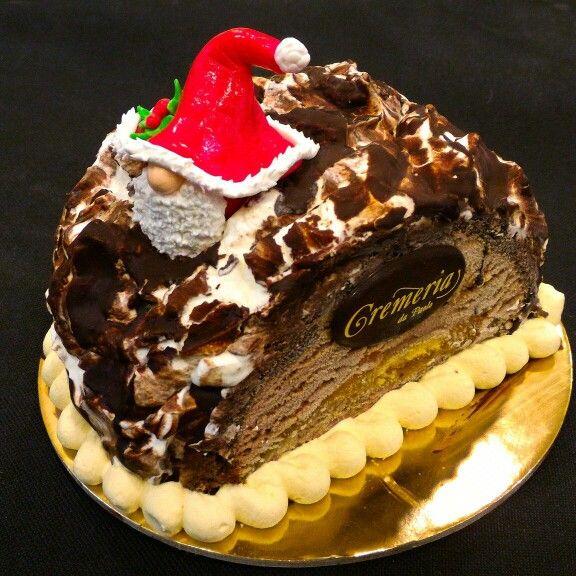 Tronchetto Di Natale Semifreddo.Tronchetti Di Semifreddo Con Cuore Di Gelato E Morbido Pan