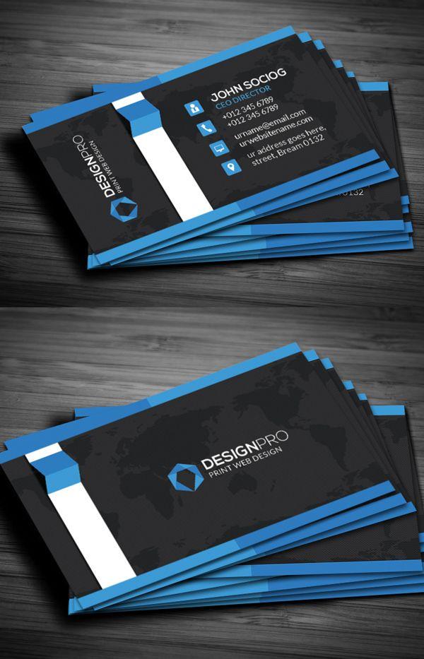 Moderne Visitenkarten Designs Sowie Moderne Visitenkarte Und
