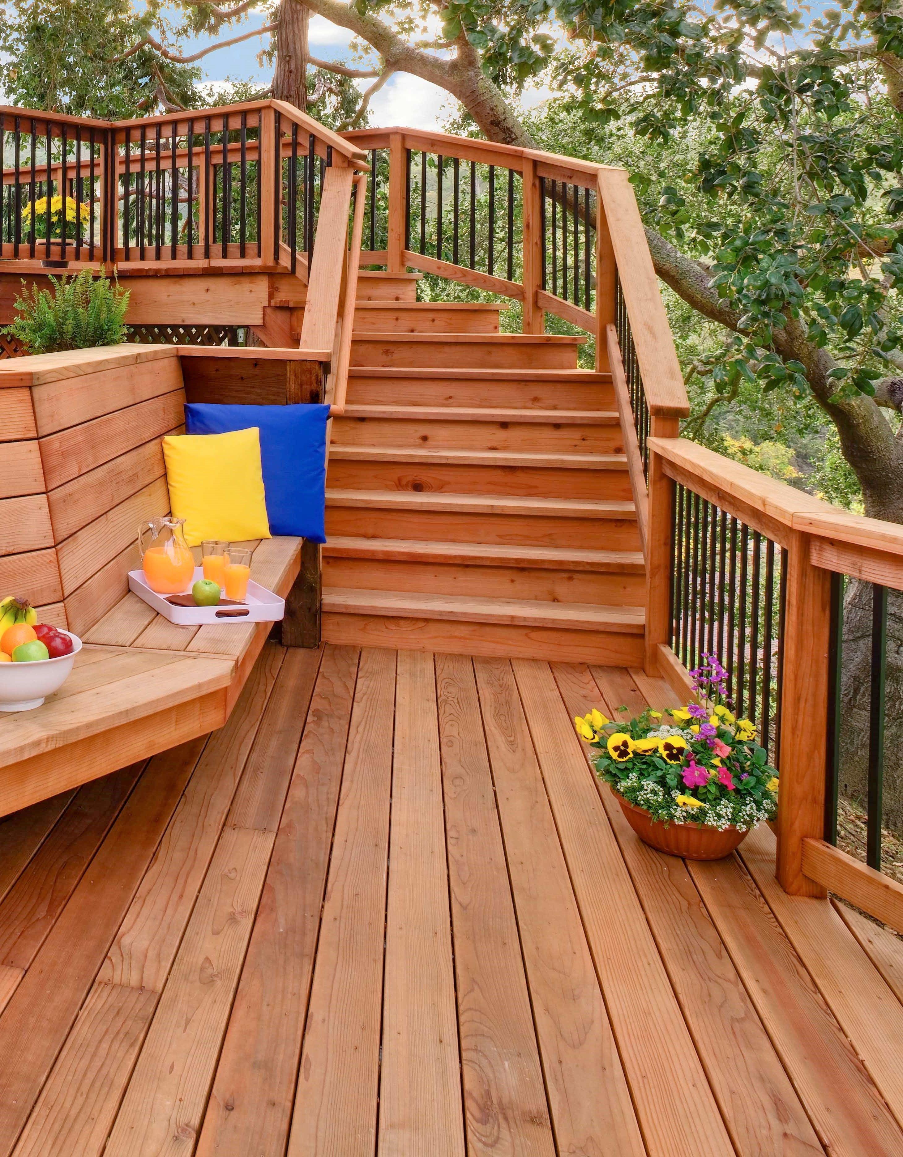 Forms Of Attractive Deck Barriers Dova Home Deck Design Diy Deck Deck