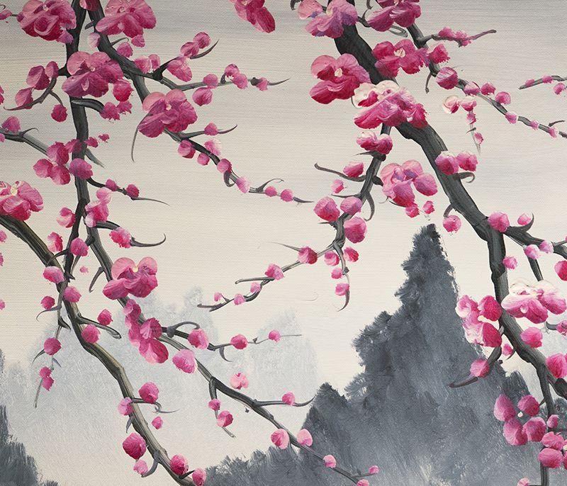 Popular Chinese Modern Art Blossom Google Search Peinture