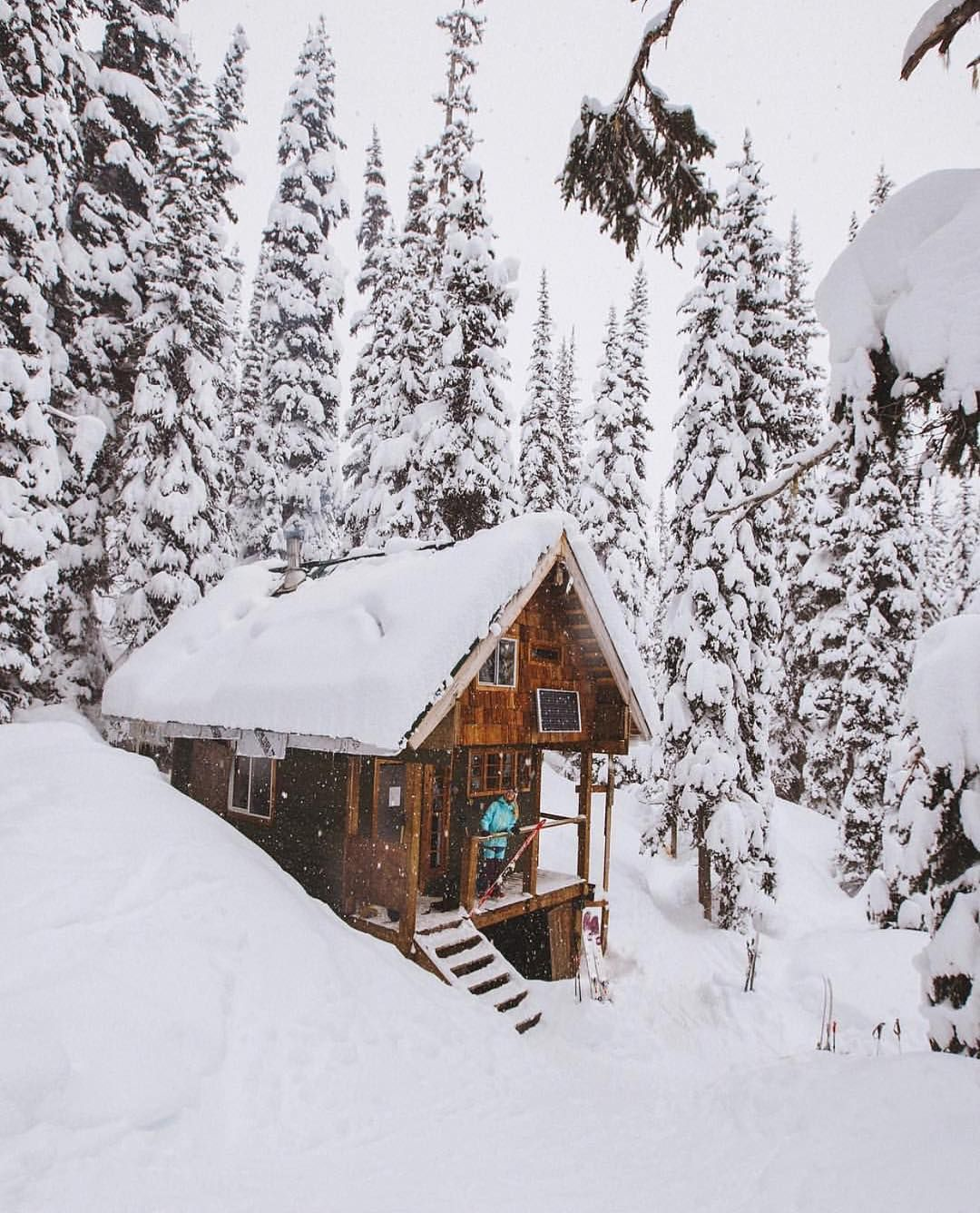 Thecabinland Bc Whistler Canada Snow Snowycabin Cabin