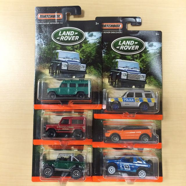 the Lamley Group: The return to realism continues: The 2016 Matchbox Land Rover Series.