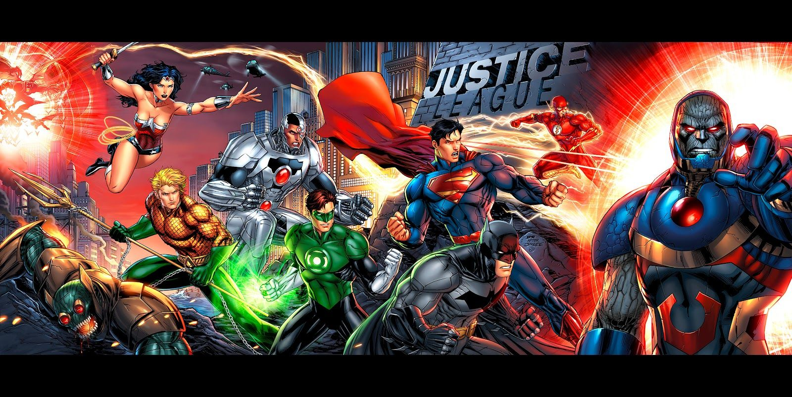 The New 52 Justice League Jim Lee drew this, which is an exact ...