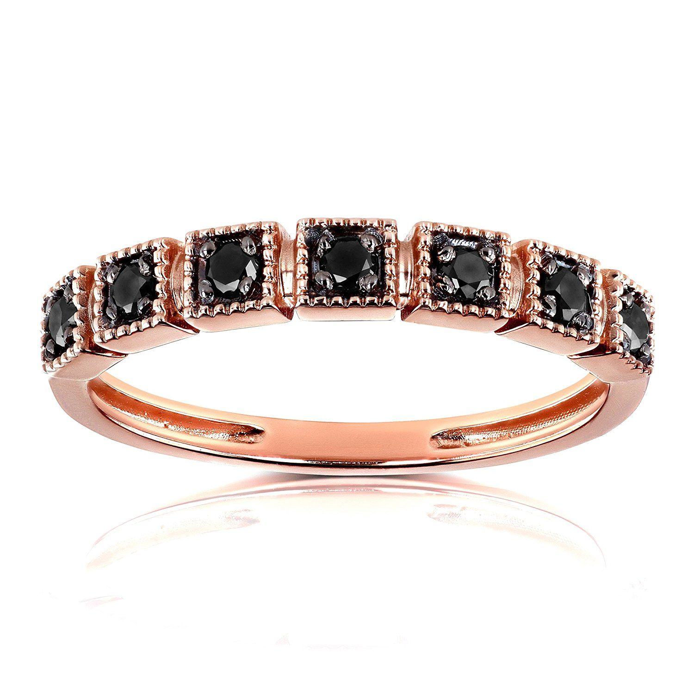 40+ Rose gold black diamond wedding band ideas in 2021